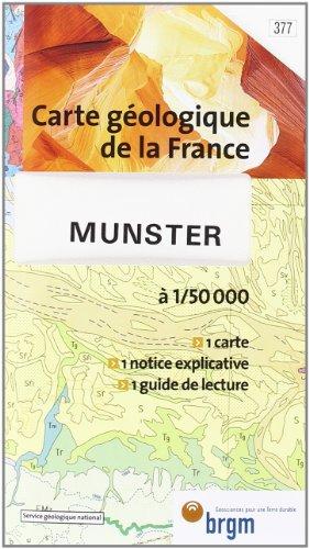 Carte géologique : Munster