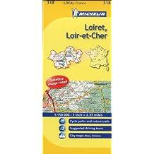 Michelin Local France: Loiret, Loir-et-Cher