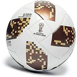 Adidas - Balón de fútbol World Cup 2018 para niños de 8 a 12 años, (talla 4), diseño de Torneo de Rusia