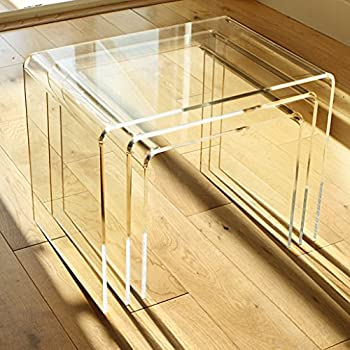 Clear Perspex Coffee Table