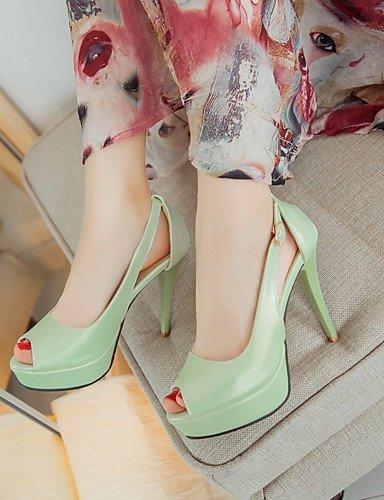 WSS 2016 chaussures vachette / cuir des femmes chunky bottes / gladiator / confort / combat / nouveauté / styles / bout pointu / white-us8 / eu39 / uk6 / cn39
