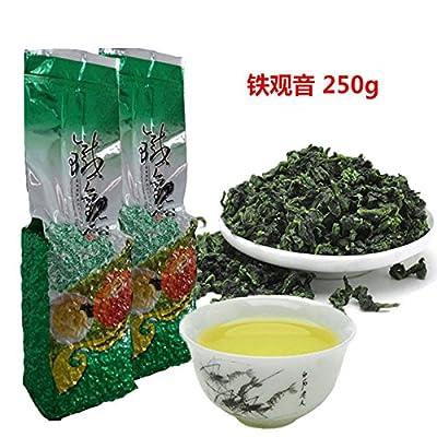 Livraison gratuite 250g (0.55LB) thé chinois Anxi Tieguanyin, thé vert frais de la Chine Tikuanyin, Thé vert organique naturel Thé Oolong de santé Poids perdu Thé vert
