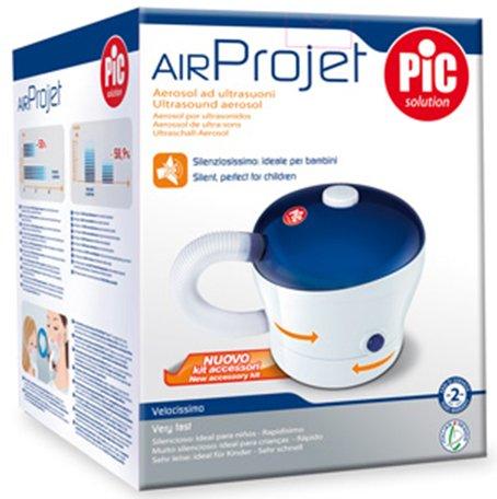 Aerosol a ultrasuoni AirProjet PIC Solutions con nuovo kit di accessori