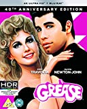 Grease 40th Anniversary 4K UHD (4K UHD Plus BD) [Blu-ray] [2018] [Region Free]