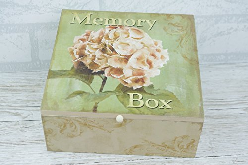 Fenton China Mum Nan-Andenken Box Holz Hortensie Holz Aufbewahrung von Global Designs sg1600 (Möbel-andenken-kasten)