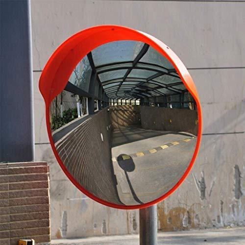 xqy lenti grandangolari per traffico all'aperto, specchio di sicurezza convesso parcheggio punto cieco per strada sicurezza grandangolare specchio stradale curvatura specchio tondo grande sorveglianz