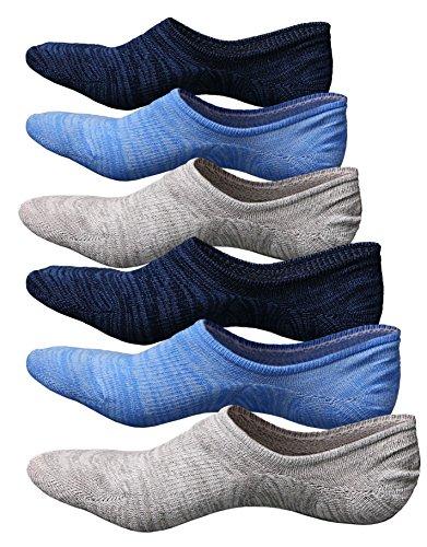 Männer Socken Herren Füßlinge Sneaker Socken Unsichtbare Sportsocken Baumwolle,3/5/6 Paar