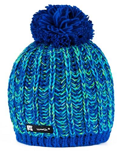 Unisex-Wintermütze aus Wolle, Beanie, Jersey, Ski, Snowboard, modisch, Niunio 87, M/L