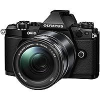 Olympus OM-D E-M5 Mark II Systemkamera (16 Megapixel, 7,6 cm (3 Zoll) TFT LCD-Display, Full HD, HDR, 5-Achsen Bildstabilisator) inkl. 14-150 mm II Objektiv schwarz