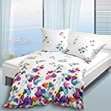Janine Design Mako-Satin Bettwäsche modern art 4136-09 multicolor 135x200 cm + 80x80 cm