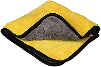 SHAFIRE Double sided microfiber cleaning towel rapid absorption.