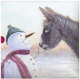 Cartes de Noël (Ph-xba0027)–Bonhomme de neige et ses amis–à partir de l'art House Range–Boîte de 16cartes