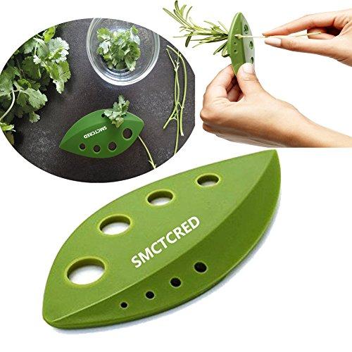 Herb & Kale Stripping Tool - rimuove e Grinds foglie dai gambi in pochi secondi! - Perfetto per Spogliarello verdure o erbe come Kale, Chard, rosmarino, timo, ecc