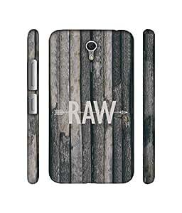 NattyCase Raw Design 3D Printed Hard Back Case Cover for Lenovo ZUK Z1