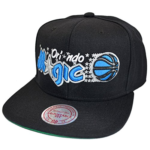 Mitchell & Ness Snapback Orlando Magic Wool Solid 2 black