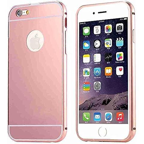 iphone 5S/ iphone 6/ iphone 6 Plus Caso-FLOVEME Espejo de Oro Galvanizar Fuerte Carcasas y Fundas para iphone 5S/ iphone 6/ iphone 6