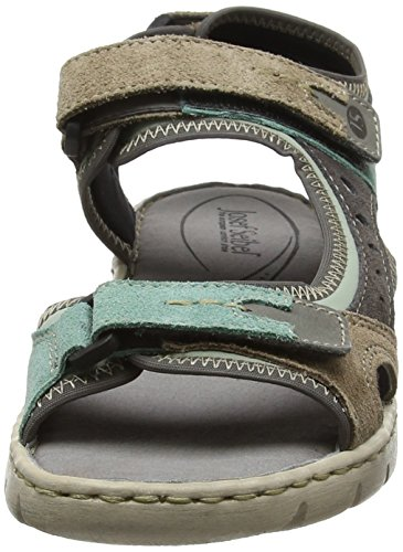 Josef Seibel Damen Stefanie 23 Sandalen Multicolour (Mint Multi)