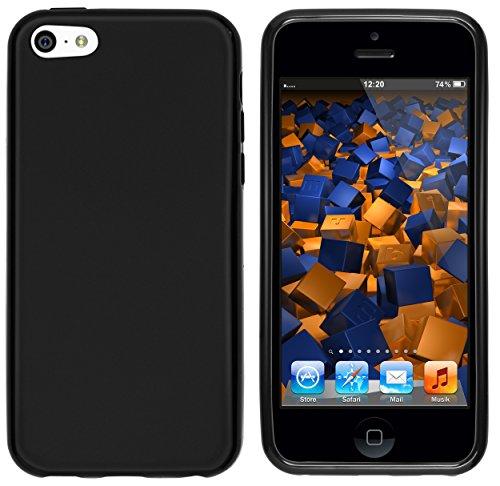 mumbi Schutzhülle für iPhone 5C Hülle in matt schwarz