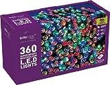 Brite Ideas Festive Productions 360 LED Lights - Multicolour