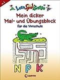 Mein dicker Mal- und Übungsblock für die Vorschule (LernSpielZwerge - Sammelblock)