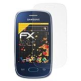atFolix Schutzfolie für Samsung Galaxy Pocket Neo (GT-S5310) Displayschutzfolie - 3 x FX-Antireflex blendfreie Folie