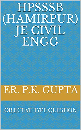 hpsssb hamirpur je civil engg objective type question 1 ebook