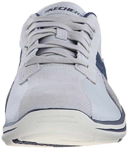 Skechers Usa Ã?lu Sneaker Gavino Lace-up Light Gray/Blue