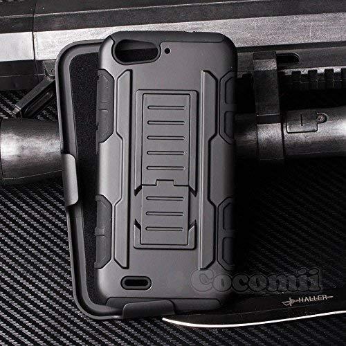 Cocomii Robot Armor ZTE Blade V6/D6/X7 Funda NUEVO [Robusto] Superior Funda  Clip Para Cinturón Soporte Antichoque Caja [Militar Defensor] Cuerpo