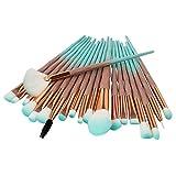Ginli Pennelli Make Up,Set di 20 pennelli da Trucco, per Applicazione di fondotinta, Fard, Pennelli Trucco Professionale,Trucco per Le Sopracciglia, Gli Occhi,Makeup Brushes,Make Up Brush Set …