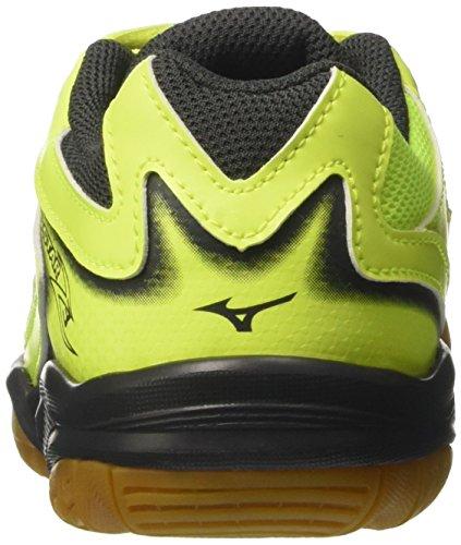 Mizuno Lightning Star Z3 Junior Chaussure Sport En Salle - SS17 jaune/bleu/noir
