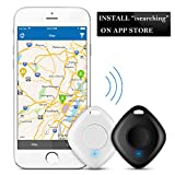 2 Pcs Schlüssel Finder mit Kamera Fernbedienung, Bizoerade Bluetooth Key Finder Anti-verloren GPS Tracker für Schlüssel/Telefon/Wallet/Haustiere (for iPhone 7/8 and More iOS Geräte)
