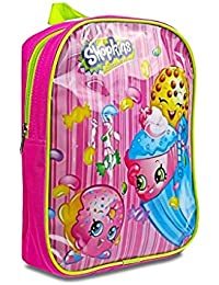 Preisvergleich für Shopkins Junior EVA Girls Kids School Nursery Pink or Purple Travel Backpack Rucksack Bag (Pink) by E Bargains UK