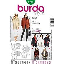 68fd4ffa9811 Burda B7700 - Cartamodello per realizzare giacca da donna