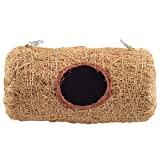 Bristo Coco Fiber Bird Nest (Cylinder Large) - Bird Shelter for Budgies & Java