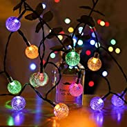 NOVALUC 40 LED Crystal Ball String Light Series Hanging Fairy Lights for Home Decoration (Multicolor)