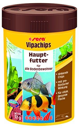 Sera Vipachips - Mangime base completo in chips per pesci da fondo