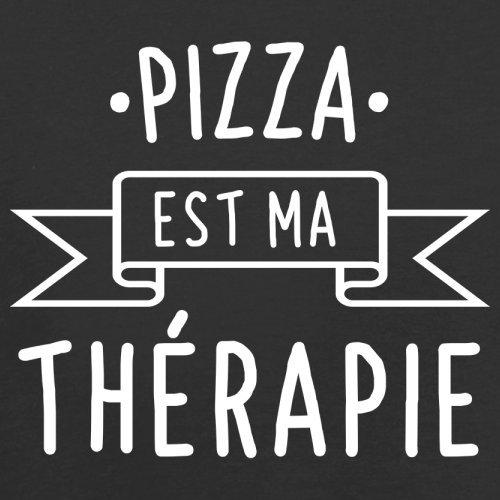 Une pizza est ma thérapie - Femme T-Shirt - 14 couleur Noir