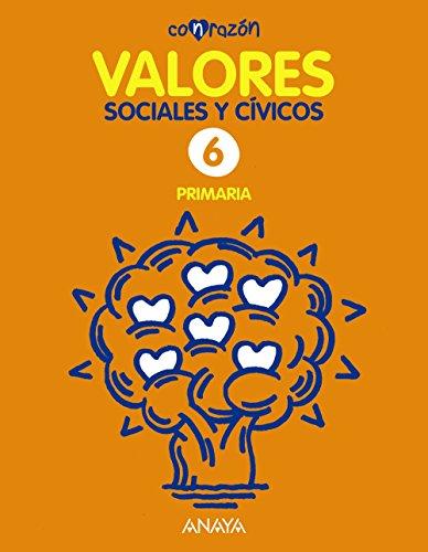 Valores Sociales y Cívicos 6. (Con razón) - 9788467881561 por Fernando Martínez Llorca