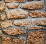 Klebefolie Naturstein Mauer rustikal - 45 cm x 15 Meter Dekorfolie Möbelfolie Steinwand - selbstklebende Folie, Selbstklebefolie, Bastelfolie