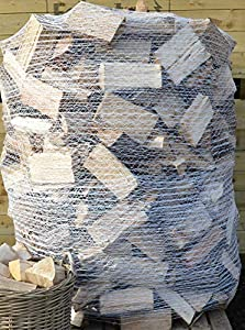 Seasoned Kiln Dried Firewood Logs 1.6m3 for Open Fires, Stoves, Log Burners, Chimineas and Fire Pits
