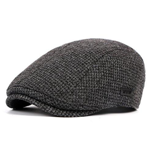 Cappello invernali Anshili Uomo Berretti (Grigio) a679e7172ddc