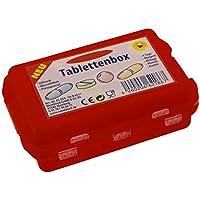 Durchdachter und besonders praktische Medikamentendosierer Tablettenbox Pillendose in 5 verschiedenen Farben!... preisvergleich bei billige-tabletten.eu