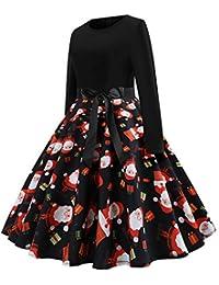 063075f749556 Amazon.it  natale - Linea ad A   Vestiti   Donna  Abbigliamento