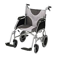 Ability Superstore 17-Inch Transit Ultra-Lightweight Aluminium Wheelchair