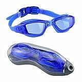Occhialini da nuoto, EveShine occhialini da nuoto unisex trasparenti -