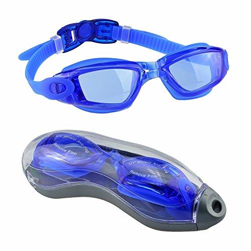 Gafas de Natación,EveShine Gafas para Nadar Unisex Anti goteo Prot