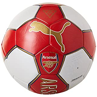 Puma Arsenal Football Supporter Ball – High Risk Red/Bistre/Estate Blue/White, 5 082584 01