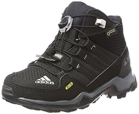 Adidas Unisex-Kinder Terrex Mid Gtx Wanderstiefel, Schwarz (Negbas/Negbas/Grivis), 30 EU