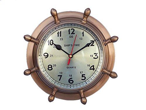 laiton-antique-double-cadran-horloge-hublot-roue-8-hublot-horloge-murale-en-laiton