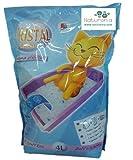 Naturonia Lecho Higiénico para Gatos: Gel De Silice 4 Lx2 Unidades= 8 litros